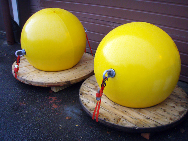 Syntactic Adcp Buoys Ellipsoid Low Drag Buoys Plastic