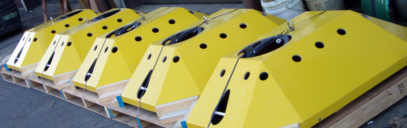 Custom Designed Trawl Resistant Bottom Mount Systems Available