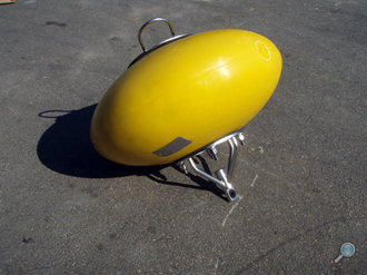Ellipsoid-shaped ADCP buoy