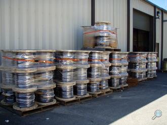 Wire rope product shipments at our Cataumet, MA facility